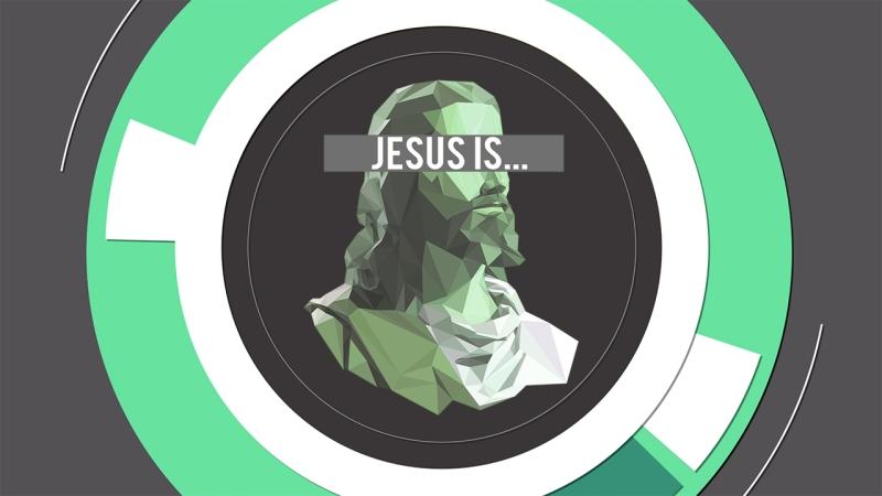 Jesus is bkg2